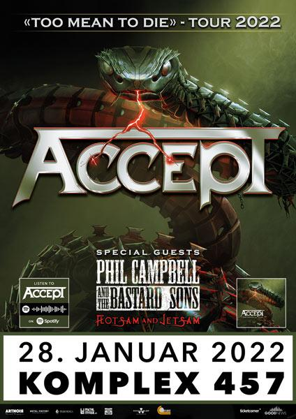 ACCEPT, Phil Campbell and the Bastard Sons
