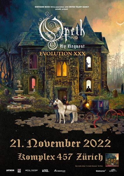OPETH & Support