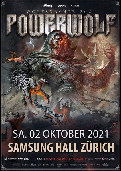 POWERWOLF & Support