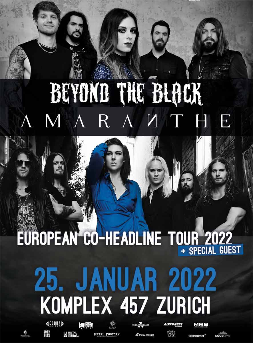 BEYOND THE BLACK, Amaranthe