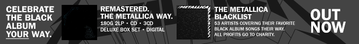 Metallica Blacklist 2021