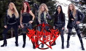 BURNING WITCHES enthüllen Cover ihres neuen Albums «The Witch Of The North»