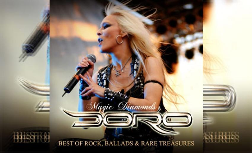 DORO – Magic Diamonds, Best Of Rock, Ballads & Rare Treasures