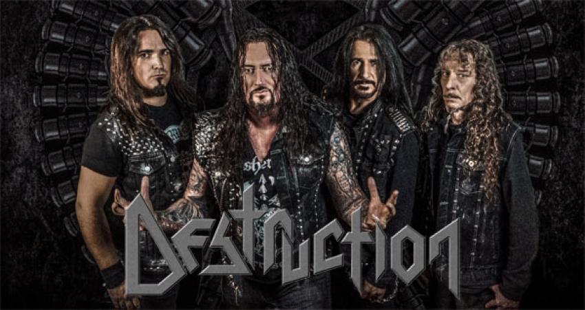 DESTRUCTION - Sehr zufrieden mit dem neuen Gitarristen