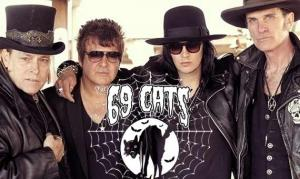 THE 69 CATS, die neue Goth'n'Roll Supergroup mit Video zu «She's Hot»