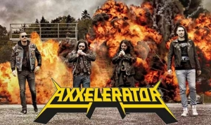 AXXELERATOR mit erster Single & Video «Living With Nuclear Neighbours»