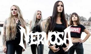 NERVOSA zeigen neues Lyric-Video mit Schmier von DESTRUCTION
