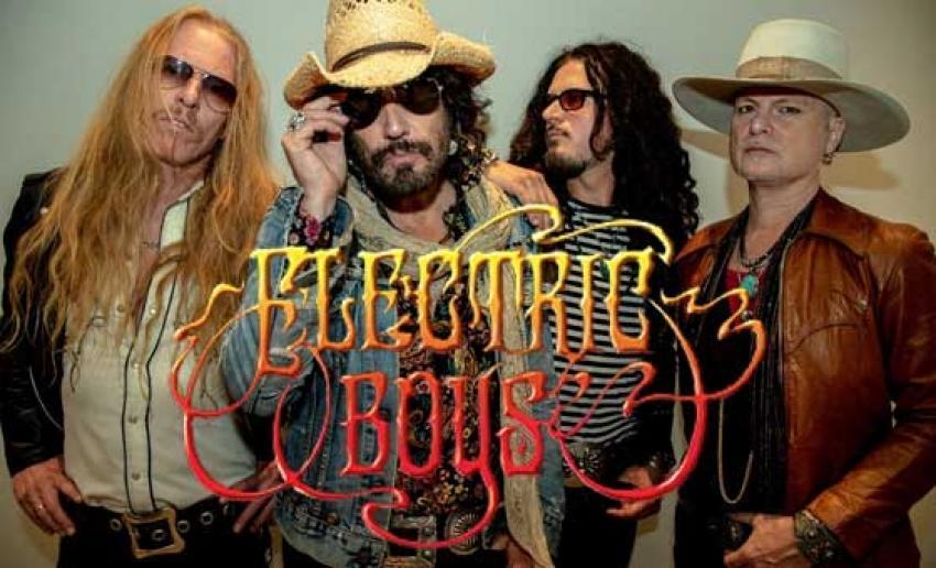 """ELECTRIC BOYS veröffentlichen im April das neue Album """"Ups! De Down"""""""