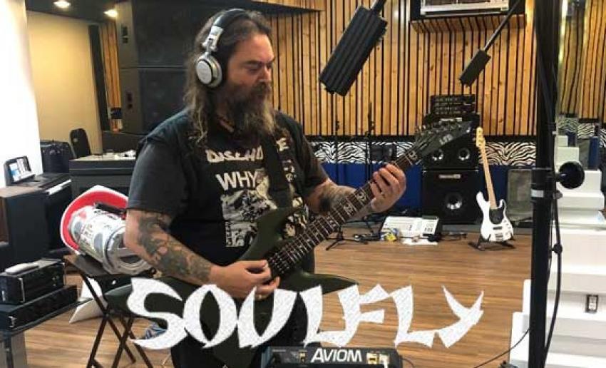 SOULFLY sind im Studio und nehmen neues Album auf.