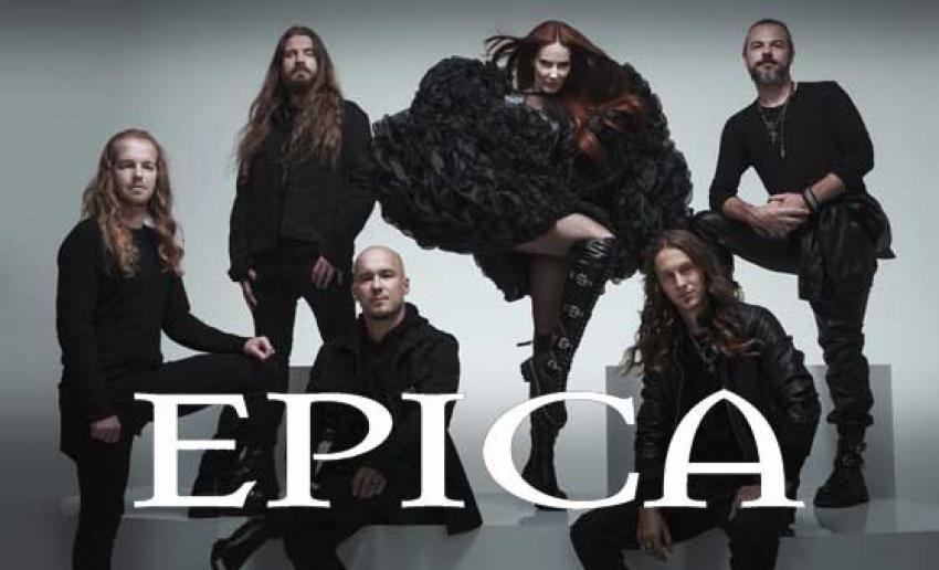 EPICA enthüllen Musikvideo für ihre dritte Single 'Rivers'.