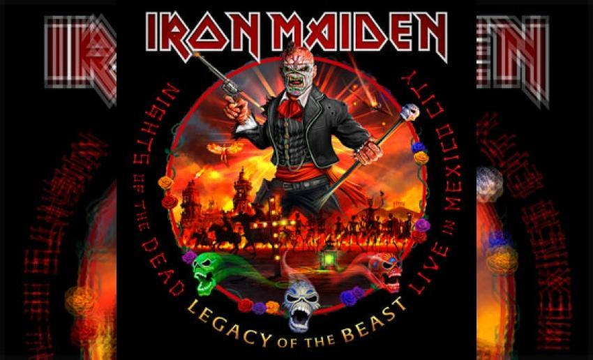 IRON MAIDEN - Nights Of The Dead - Legacy Of The Beast (Live)