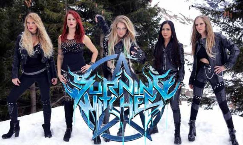 BURNING WITCHES veröffentlichen Musikvideo «The Witch Of The North» zur Walpurgisnacht
