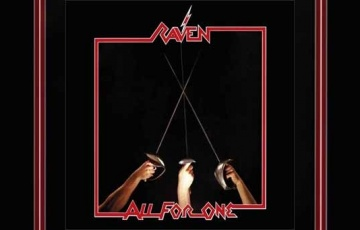 RAVEN – All For One (Re-Release)