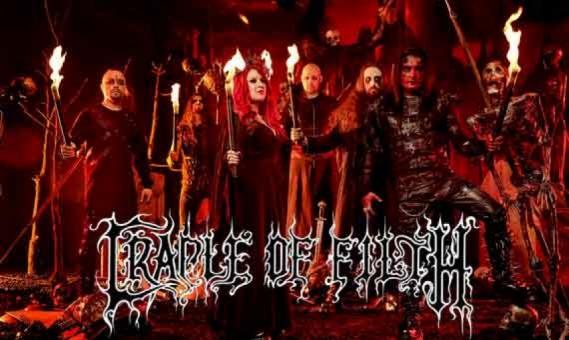CRADLE OF FILTH enthüllen erstes höllisches Musikvideo zu «Crawling King Chaos»